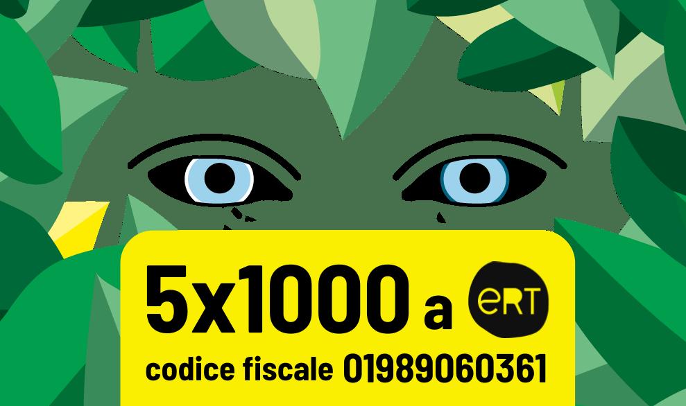 Il tuo 5x1000 a ERT